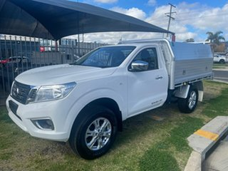 2019 Nissan Navara D23 Series 4 MY20 RX (4x4) White 7 Speed Automatic Cab Chassis.