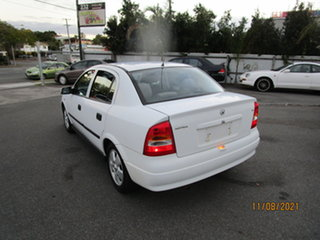 2003 Holden Astra TS CD White 4 Speed Automatic Sedan