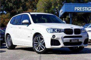 2016 BMW X3 F25 LCI xDrive20i Steptronic White 8 Speed Automatic Wagon.