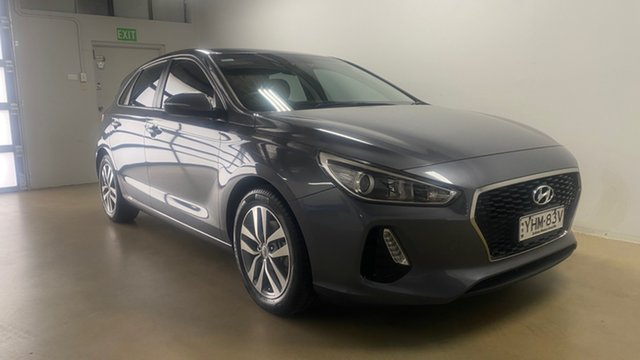 Used Hyundai i30 PD Active Phillip, 2017 Hyundai i30 PD Active Grey 6 Speed Auto Sequential Hatchback