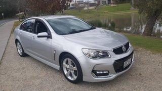 2015 Holden Commodore VF II MY16 SV6 Silver 6 Speed Sports Automatic Sedan.