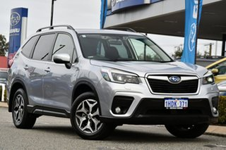 2021 Subaru Forester S5 MY21 2.5i CVT AWD Ice Silver 7 Speed Constant Variable Wagon.