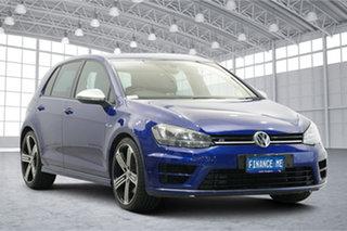 2017 Volkswagen Golf VII MY17 R 4MOTION Blue 6 Speed Manual Hatchback.