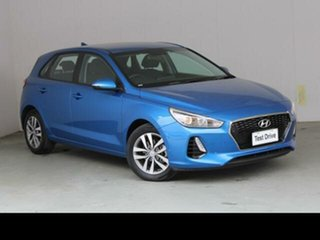 2018 Hyundai i30 PD2 MY19 Active Blue 6 Speed Automatic Hatchback