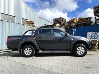 2012 Mitsubishi Triton MN MY12 GL-R Double Cab Grey 4 Speed Automatic Utility.