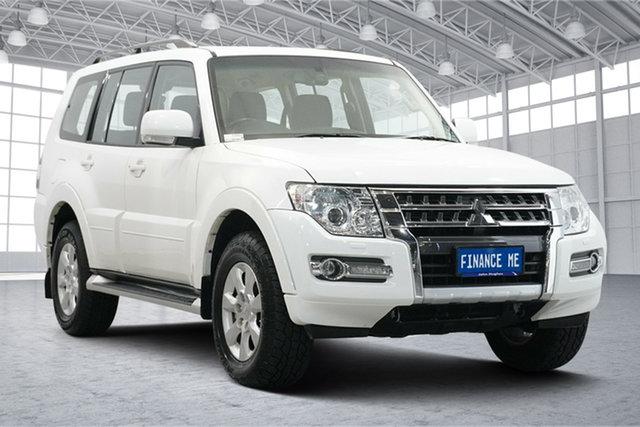 Used Mitsubishi Pajero NX MY19 GLX Victoria Park, 2019 Mitsubishi Pajero NX MY19 GLX White 5 Speed Sports Automatic Wagon