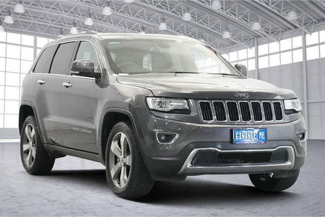 Used Jeep Grand Cherokee WK MY15 Limited Victoria Park, 2014 Jeep Grand Cherokee WK MY15 Limited Grey 8 Speed Sports Automatic Wagon