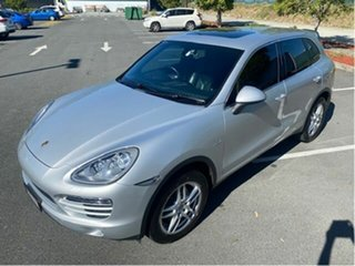 2013 Porsche Cayenne Series 2 MY13 Diesel Silver 8 Speed Automatic Tiptronic Wagon.