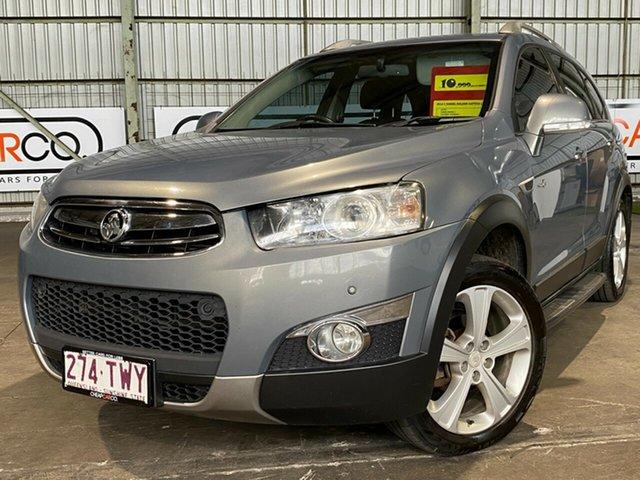 Used Holden Captiva CG MY13 7 AWD LX Rocklea, 2013 Holden Captiva CG MY13 7 AWD LX Grey 6 Speed Sports Automatic Wagon