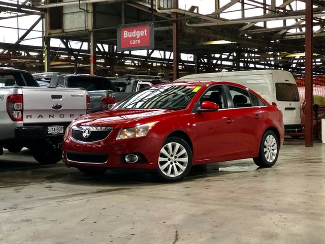 Used Holden Cruze JG CDX Mile End South, 2011 Holden Cruze JG CDX Red 6 Speed Sports Automatic Sedan