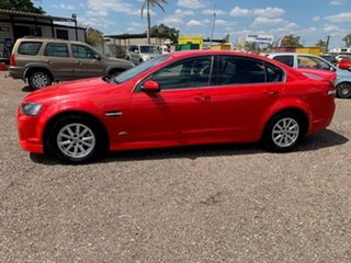 2013 Holden Commodore VE SV6 Red 4 Speed Auto Active Select Sedan.