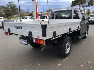 2020 Toyota Hilux GUN126R SR Eclipse Black 6 Speed Sports Automatic Cab Chassis