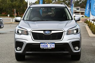 2021 Subaru Forester S5 MY21 2.5i CVT AWD Ice Silver 7 Speed Constant Variable Wagon