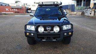2012 Nissan Patrol GU VIII ST (4x4) Black 5 Speed Manual Wagon