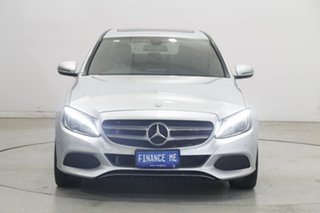 2016 Mercedes-Benz C-Class W205 807MY C200 7G-Tronic + Silver 7 Speed Sports Automatic Sedan.