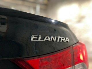 2012 Hyundai Elantra MD Elite Black 6 Speed Sports Automatic Sedan