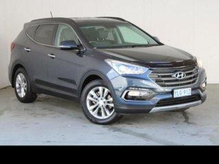 2015 Hyundai Santa Fe DM MY15 Elite CRDi (4x4) Blue 6 Speed Automatic Wagon