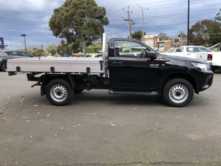 2020 Toyota Hilux GUN126R SR Eclipse Black 6 Speed Sports Automatic Cab Chassis.