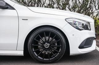 2019 Mercedes-Benz CLA-Class X117 809MY CLA200 Shooting Brake DCT Polar White 7 Speed
