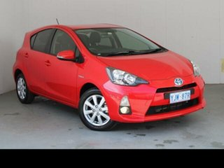 2014 Toyota Prius c NHP10R I-Tech Hybrid Cherry Continuous Variable Hatchback