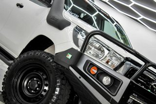 2019 Toyota Hilux GUN126R MY19 Upgrade SR (4x4) White 6 Speed Automatic Double Cab Chassis.
