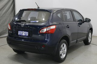 2011 Nissan Dualis J10 Series II MY2010 ST Hatch Blue 6 Speed Manual Hatchback