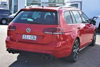 2020 Volkswagen Golf 7.5 MY20 R DSG 4MOTION Red 7 Speed Sports Automatic Dual Clutch Wagon