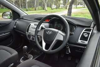 2010 Hyundai i20 PB Active Green 5 Speed Manual Hatchback