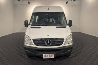 2011 Mercedes-Benz Sprinter NCV3 MY11 316CDI High Roof ELWB White 5 speed Automatic Van.
