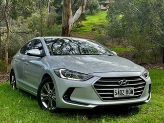 2015 Hyundai Elantra AD MY17 Active Platinium Silver/cha 6 Speed Sports Automatic Sedan.