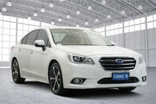 2016 Subaru Liberty B6 MY16 2.5i CVT AWD Premium White 6 Speed Constant Variable Sedan.