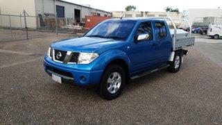 2007 Nissan Navara D40 ST-X (4x4) Blue 5 Speed Automatic Dual Cab Pick-up