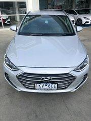 2017 Hyundai Elantra AD MY17 Elite Platinum Silver 6 Speed Sports Automatic Sedan.