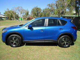 2013 Mazda CX-5 KE1031 MY14 Maxx SKYACTIV-Drive AWD Blue 6 Speed Sports Automatic Wagon