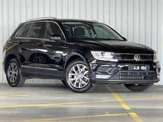 2016 Volkswagen Tiguan 5N MY17 110TSI DSG 2WD Comfortline Black 6 Speed Sports Automatic Dual Clutch.