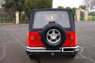 2003 Jeep Wrangler TJ Sport (4x4) Red 5 Speed Manual 4x4 Softtop.