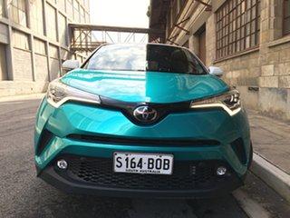 2017 Toyota C-HR NGX10R Koba S-CVT 2WD Aqua Green 7 Speed Constant Variable Wagon.