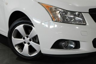 2013 Holden Cruze JH Series II MY13 Equipe White 6 Speed Sports Automatic Sedan.