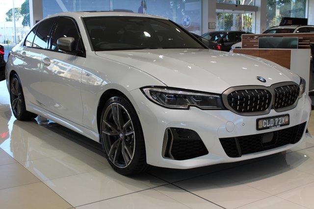 Demo BMW 3 Series G20 M340i Steptronic xDrive Newcastle West, 2020 BMW 3 Series G20 M340i Steptronic xDrive Mineral White 8 Speed Sports Automatic Sedan