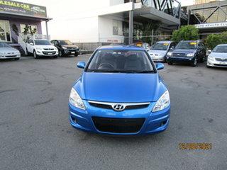2009 Hyundai i30 FD MY09 SX Blue 4 Speed Automatic Hatchback.