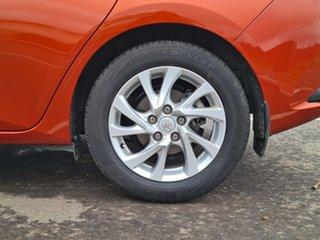 2015 Toyota Corolla ZRE182R Ascent Sport S-CVT Orange 7 Speed Constant Variable Hatchback