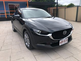 2020 Mazda CX-30 DM2WLA G25 SKYACTIV-Drive Touring Black 6 Speed Sports Automatic Wagon.