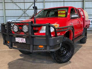 2008 Toyota Hilux GGN25R MY09 SR5 Red 5 Speed Automatic Utility.