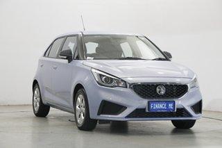 2021 MG MG3 SZP1 MY21 Core Skyfall Silver 4 Speed Automatic Hatchback