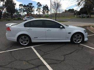 2009 Holden Commodore VE MY10 SS White 6 Speed Sports Automatic Sedan