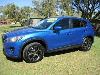2013 Mazda CX-5 KE1031 MY14 Maxx SKYACTIV-Drive AWD Blue 6 Speed Sports Automatic Wagon.