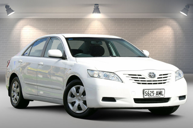 Used Toyota Camry ACV40R Altise Gepps Cross, 2009 Toyota Camry ACV40R Altise White 5 Speed Automatic Sedan
