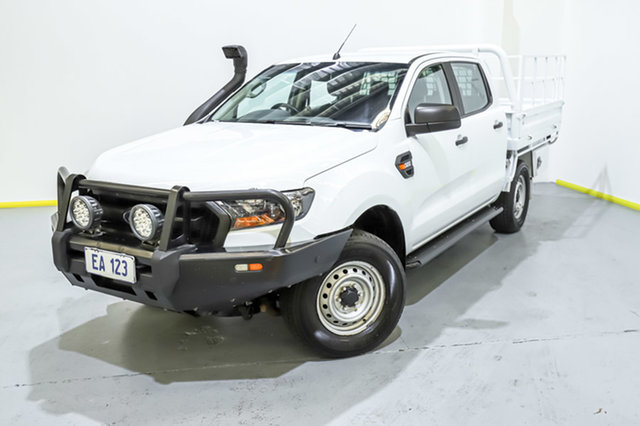 Used Ford Ranger PX MkII XL Canning Vale, 2017 Ford Ranger PX MkII XL White 6 Speed Sports Automatic Cab Chassis