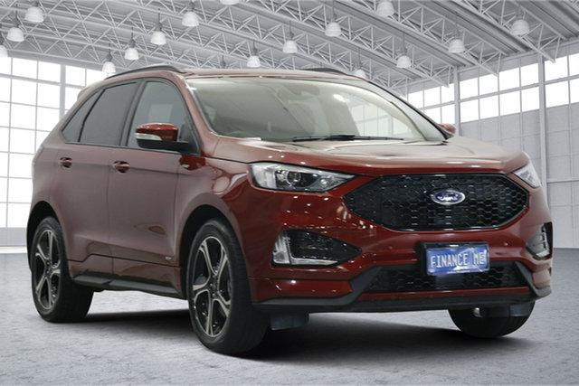 Used Ford Endura CA 2019MY ST-Line Victoria Park, 2019 Ford Endura CA 2019MY ST-Line Red 8 Speed Sports Automatic Wagon