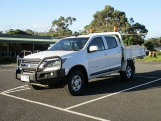2017 Holden Colorado RG Turbo LS (4x4) White Automatic CREWCAB CHASSIS.